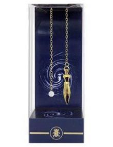 Deluxe Pointed Gold Pendulum